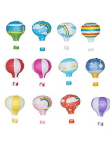 Qurly hot air balloon pattern  tissue papers