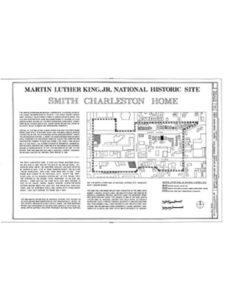 Historic Pictoric house atlanta  martin luther kings