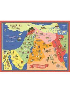 Bible Story Map isaac  bible stories