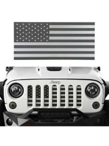 Hooke Road jeep grill insert  american flags