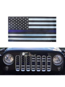 MAIKER OFF ROAD jeep grill insert  american flags
