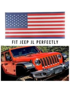 Seven Sparta jeep grill insert  american flags