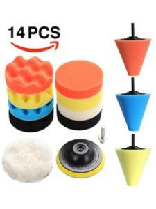 EKADA kit  chrome wheel cleanings