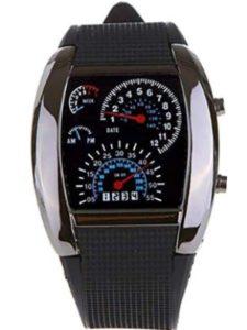 M-Rainbow led  speedometer watches