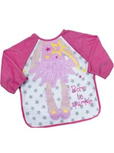 BabyTown long  sleeved towelling bibs