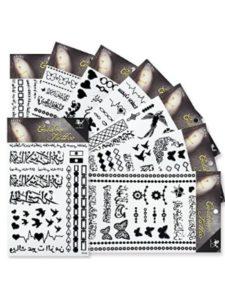 KINGHORSE lower back  henna tattoos