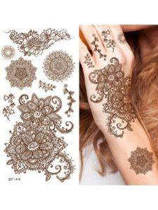 UNI Gifts Shop lower back  henna tattoos