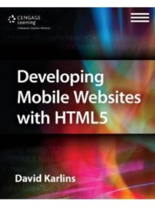 Cengage Learning PTR mobile  html editors