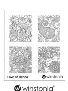 Winstonia henna designs