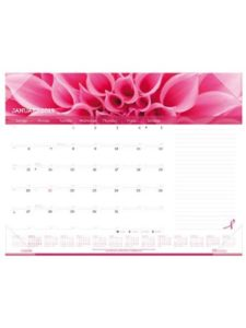 REDIFORM OFFICE PRODUCTS pink  desk pad calendars