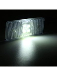 Unknown placement  trailer marker lights