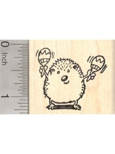 Rubberhedgehog Rubber Stamps latin american music