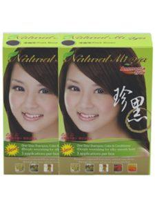 Natural Miya safe  henna hair colors