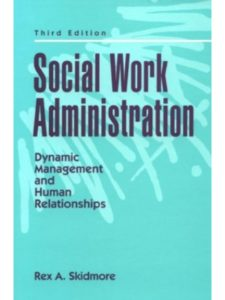 Pearson Education    social work administrations