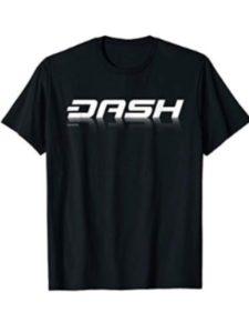 Dash T-Shirts support bitcoin cash  blockchain wallets
