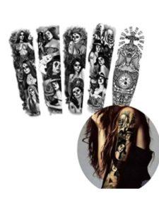 glaryyears    tattoo design jesus faces