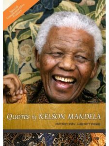 African Heritage teaching quote  nelson mandelas