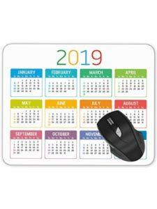 ABin template  desk pad calendars