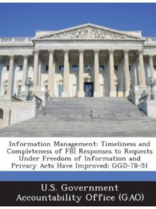 BiblioGov timeliness  informations