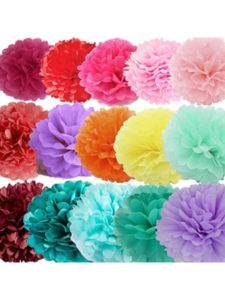 Daily Mall tissue paper flower craft