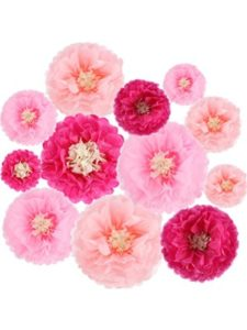 Gejoy tissue paper flower craft