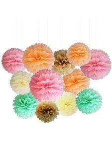 MAMUNU tissue paper flower craft