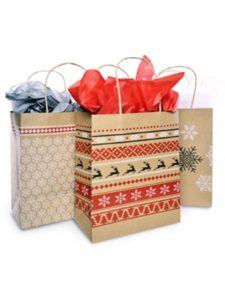 Christmas Gift Bags   tissue papers without acid
