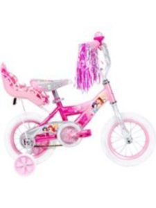 Huffy    toddler bike with doll carriers