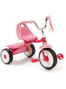 Radio Flyer    toddler bike with doll carriers