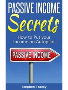 Stephen Tracey top 10  passive incomes