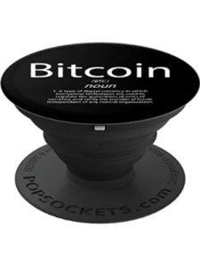 PopSockets transfer  blockchain bitcoins