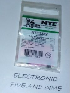 NTE Electronics, Inc. transistor  relay switches