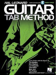 Hal Leonard tutorial  guitar tabs