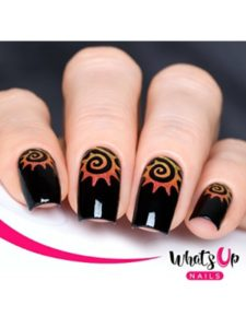 Whats Up Nails tutorial  tattoo stencils