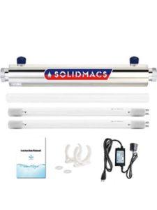 solidmacs uv sterilizer  water treatments
