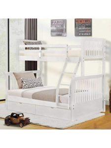 Harper&Bright Designs wood  bunk bed ladders
