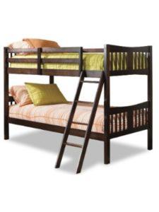 Storkcraft wood  bunk bed ladders