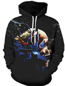 Alistyle    3d graphic hoody