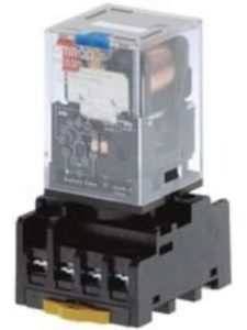 OMRON    8 pin octal relays