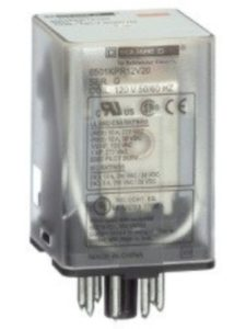 SQUARE D    8 pin octal relays