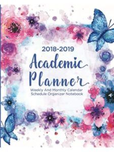 Independently published    academic planner weekly monthlies