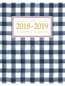 Pretty Simple Books    academic planner weekly monthlies