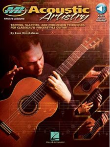 Musicians Institute Press / Hal Leonard acoustic  guitar tapping techniques