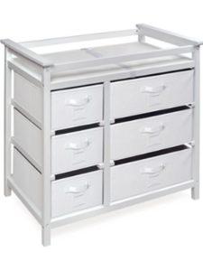 Badger Basket Company - DROPSHIP modern changing table