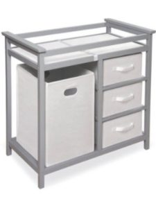 Badger basket modern changing table