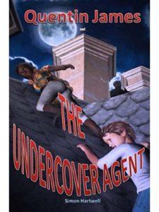 Simon Hartwell book cover  spy schools