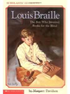 Scholastic Paperbacks book  louis brailles