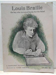 Scholastic book  louis brailles