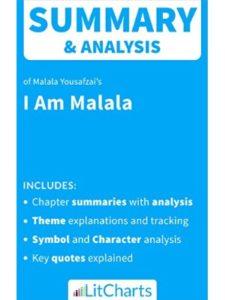 LitChart book summary  malala yousafzais