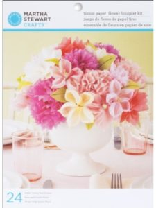 Master Chef bouquet kit  tissue paper flowers